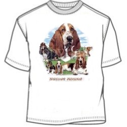 Dog Breed Basset Hound T-Shirt