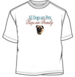 Pugs Are Family T-Shirt