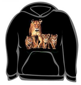 Lion Family and Cubs Tee
