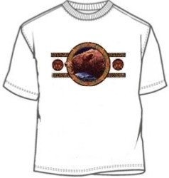 Tribal and Indian Grizzly Bear tees