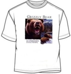 Ursus Arctos Horribilis Grizzly Bear tees