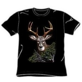 Eight Point Buck Deer T-Shirt