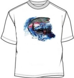 Fly Fishing fisherman tee shirt