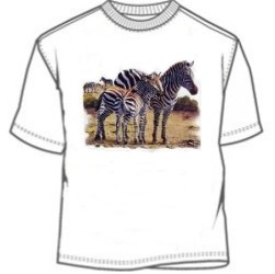 Zebra Herd T-Shirt