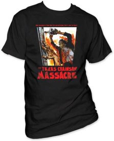 Leatherface Texas Chainsaw Massacre Italian Poster Tee