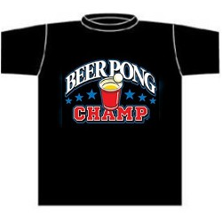 Beer Pong Champ Tees