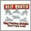 Novelty Sex Help Wanted Many Positions Available Tee Shirts