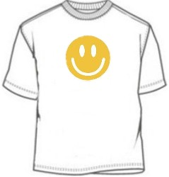 Smiley Face Novelty Tee Shirt