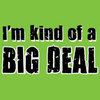 Humorous T-Shirt - Big Deal