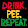 Humorous T-Shirt - Drink Pee Repeat