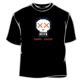 Humorous T-Shirt - Game Over