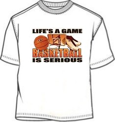 Serious Basketball T-Shirt