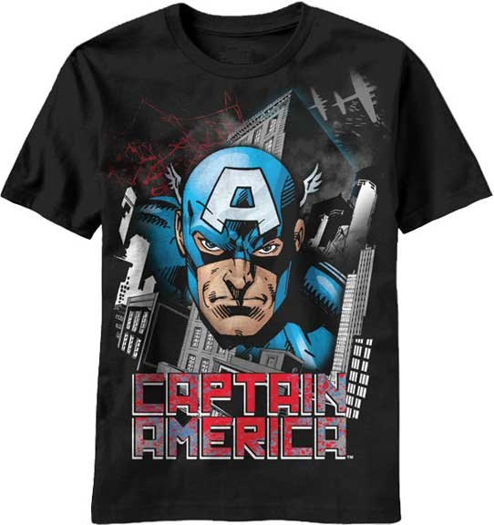 captain america airplanes t shirt. Black Bedroom Furniture Sets. Home Design Ideas