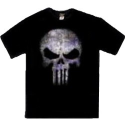 Purple Skull Punisher Logo