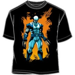 Wolverine Standing With Claws Extended Logan T-Shirt