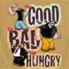 Popeye T-Shirt The Good The Bad And The Hungry