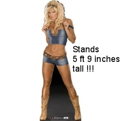 Life Size Torrie Wilson Cardboard Stand Up