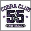 Cobra club softball short sleeve t-shirts