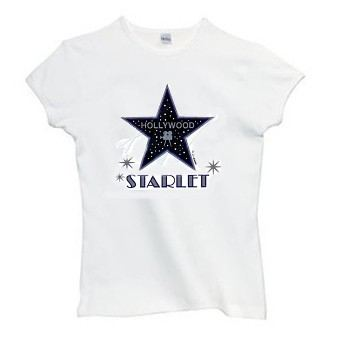 Women's hollywood starlet tees
