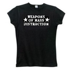 Big Tits Weapons of Mass Distraction Funny Tees