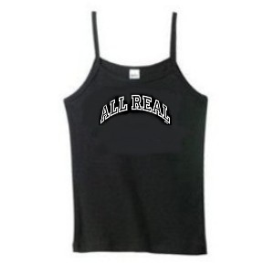 All Real big breasts spaghetti strap tank top