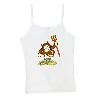 Monkey around spaghetti strap tank top