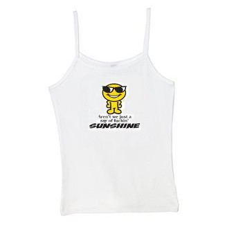 Aren't We Just A Ray Of Fuckin' Sunshine Spaghetti Strap Tank Top
