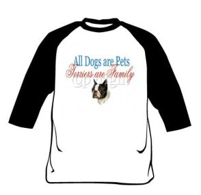 Raglan Shirt - Terriers Are Family