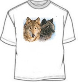 Two Wolf Tee Shirt