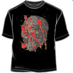 Blood  Skull Tee Shirt