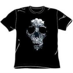 Distressed Skull Tees