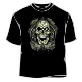 Skull Shirt - Gangster