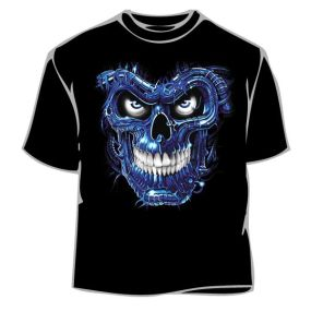 Rock and Roll Skull T-Shirt