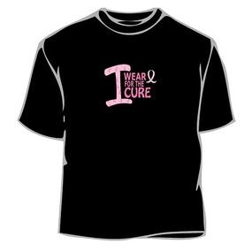 I Wear Pink For Cure T-Shirt