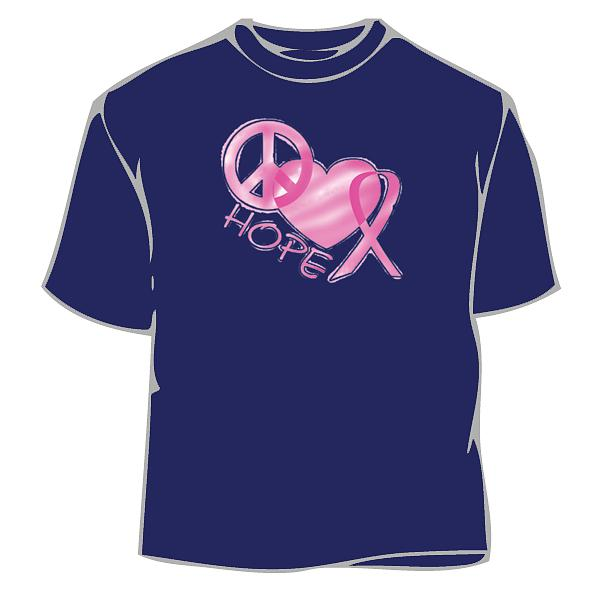 df1022804 Pink Hope Love Cure T-Shirt