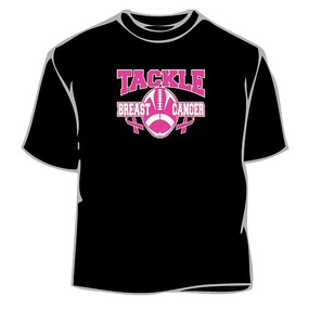 Tackle Cancer Like A Linebacker T-Shirt