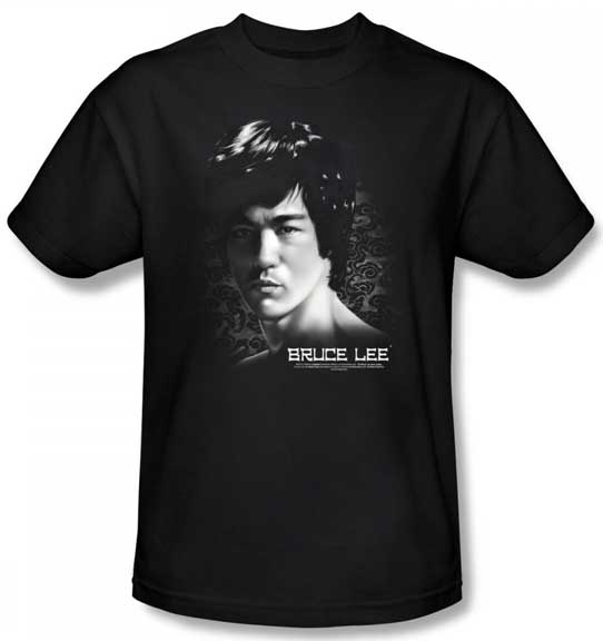 in your face bruce lee t shirt ebay. Black Bedroom Furniture Sets. Home Design Ideas