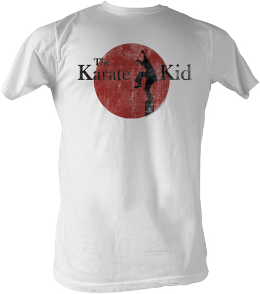 Karate Kid Ralph Macchio Crane Karate Kid Shirt - Kar...
