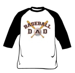 Raglan Shirt - Baseball Dad