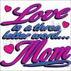 Strap Tank Top - Love and Mom