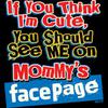 T-Shirt - Mommy Facepage