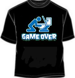 Game Over Beer Tees