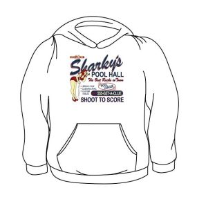 Sharky's Pool and Billiard Hoodie