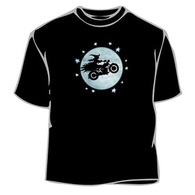 Biker Witch T-Shirt