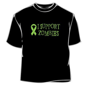 I Support Zombies T-Shirt