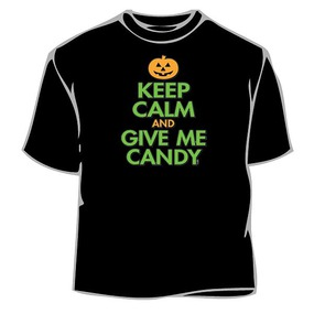 Keep Calm Give Me Candy T-Shirt