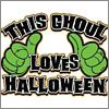 This Ghoul Loves Halloween T-Shirt