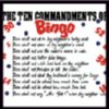 Ten Commandments Bingo Tee Shirt