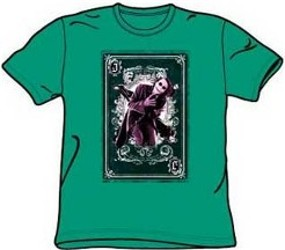 Batman The Dark Knight Playing Card Joker Tees