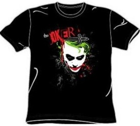 Heath Ledger Joker Dark Knight Tee